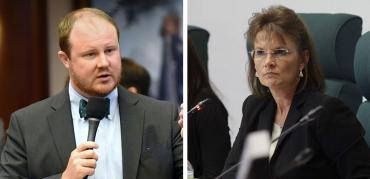 Matt Caldwell and Denise Grimsley