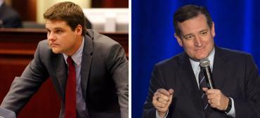 Matt Gaetz and Ted Cruz