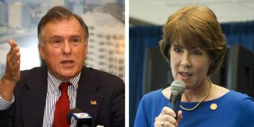 Maurice Ferre and Gwen Graham