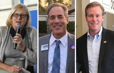 Nancy Soderberg, David Shapiro and Chris Hunter