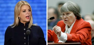 Pam Bondi and Marion Hammer