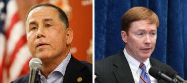 Philip Levine and Adam Putnam