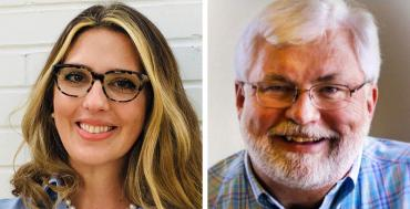 Rachel Perrin Rogers and Jack Latvala