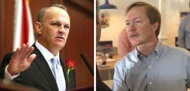 Richard Corcoran and Adam Putnam
