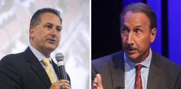 Rick Kriseman and Rick Baker