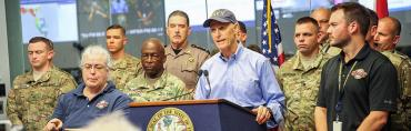 Gov. Rick Scott's briefing