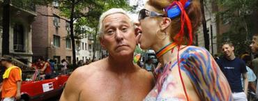 Roger Stone in Miami: nothing if not outrageous