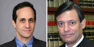 Ronald Rubin and Jorge Labarga