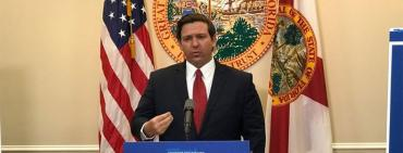 DeSantis in The Villages Tuesday