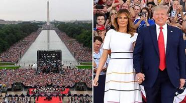 "The president's July 4 ""Salute to America"" event"