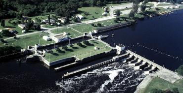 St. Lucie Lock and Dam in Martin County