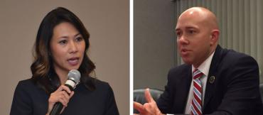 Stephanie Murphy and Brian Mast