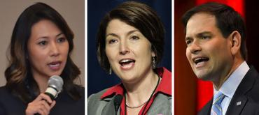 Stephanie Murphy, Cathy McMorris Rodgers and Marco Rubio