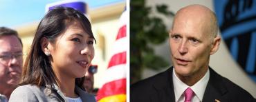 Stephanie Murphy and Rick Scott