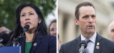 Stephanie Murphy and Steve Knight