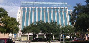 """Jim Bleyer labels the Times building """"Mismanagement, Inc."""""""