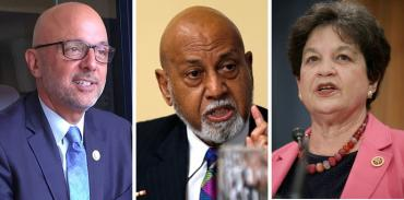 Ted Deutch, Alcee Hastings and Lois Frankel