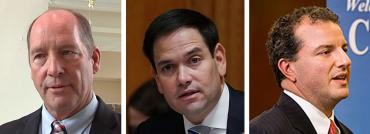 Ted Yoho, Marco Rubio and Jimmy Patronis