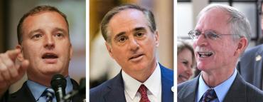 Tom Rooney, David Shulkin and John Rutherford
