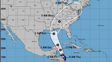 Scott Declares State Of Emergency In Northern Florida To Prep For - Map of northern florida