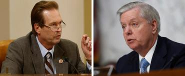 Vern Buchanan and Lindsey Graham