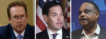 Vern Buchanan, Marco Rubio and Al Lawson