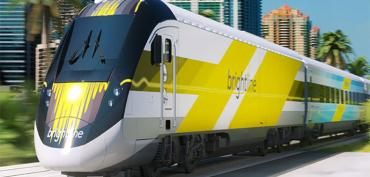 Virgin Trains, formerly Brightline, in Fort Lauderdale