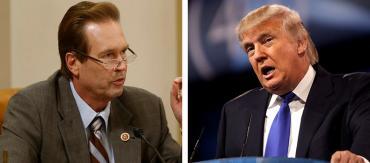 Vern Buchanan and Donald Trump