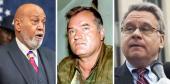 Alcee Hastings, Ratko Mladic and Chris Smith