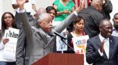 Al Sharpton Rallies in Tally Thursday