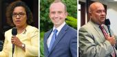 Amy Mercado, Ryan Torrens and John Cortes