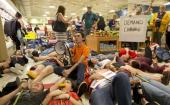David Hogg's Publix Die-In