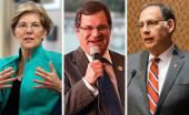 Elizabeth Warren, Gus Bilirakis and John Boozman