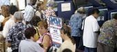 Hispanic voters go to the polls