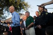 Gov. Rick Scott in Parkland