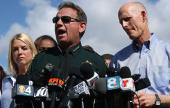 Sheriff Scott Israel with Gov. Rick Scott