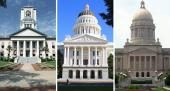 Statehouses in Florida, California and Kentucky