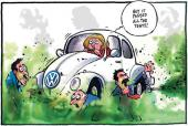 VW emissions scandal, at its height in 2015