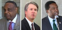 Al Lawson, Brett Kavanaugh and Alvin Brown