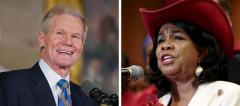 Bill Nelson and Frederica Wilson