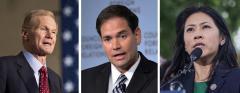Bill Nelson, Marco Rubio and Stephanie Murphy