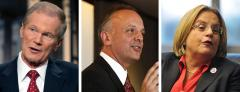 Bill Nelson, Ted Deutch and Ileana Ros-Lehtinen