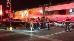 Brightline train vs. car in Boca Raton Feb. 14