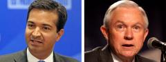 Carlos Curbelo and Jeff Sessions