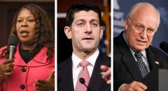 Daphne Campbell, Paul Ryan and Dick Cheney