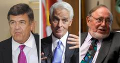 Dutch Ruppersberger, Charlie Crist and Don Young
