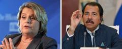 Ileana Ros-Lehtinen and Daniel Ortega