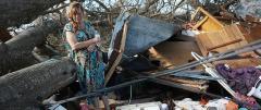 Inland damage: A scene in Marianna