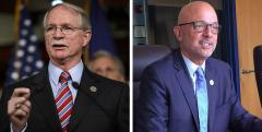John Rutherford and Ted Deutch