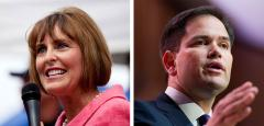 Kathy Castor and Marco Rubio